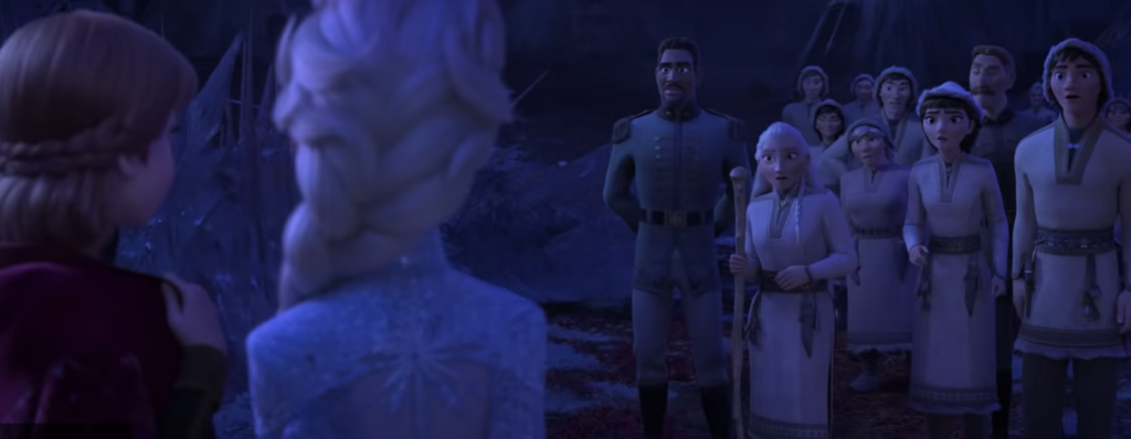 Honeymaren and her brother in Frozen 2